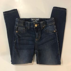 🎀4/$15 Cat & Jack Super Skinny Jeans Girls Size 6